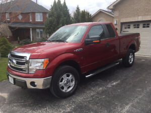 2014 FORD F-150 XLT SUPER CAB 4WD - ONE OWNER!!