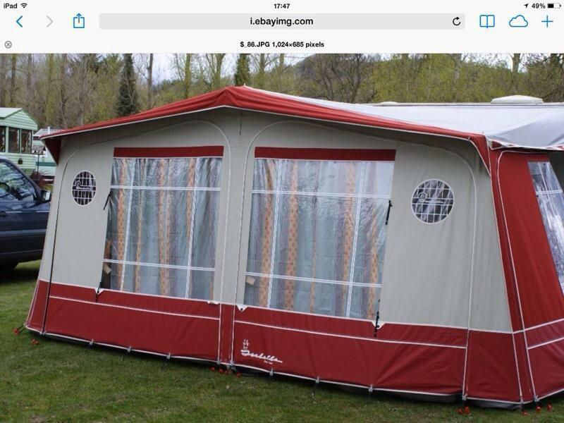 Isabella Capri Awning Size 775 14ft With Carbon Poles