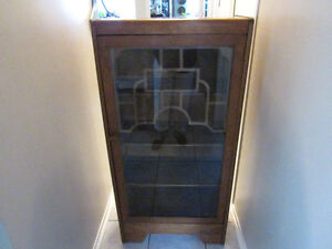 """Vintage display cabinet 4 shell 48"""" x 24"""" x 12"""""""