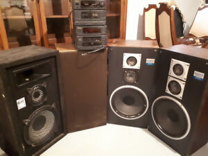 Speakers, Stereo System
