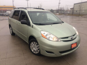 2008 Toyota  Sienna  LE, 8 Passenger,  3/Y  warranty availabl