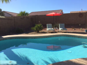 Johnson Ranch Bungalow with Private Pool for Rent