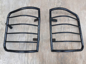 Steel tail light guards