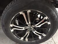 17 inch Rtx poison series rims with cooper tires
