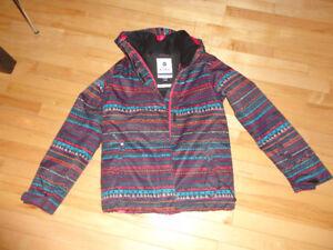 Manteau hiver de marque Roxy pour fille 14 ans