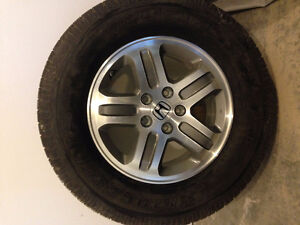 Honda Pilot Tire/Rim/TPMS 2005 Stock - Like New