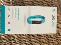 Fitbit Alta Small fully boxed Teal / Black extra strap