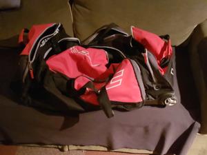 Hockey bag.