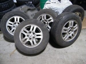 CRV wheels and tires