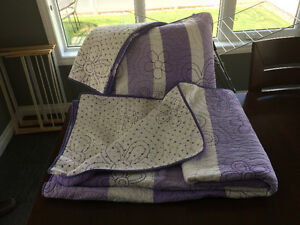 Double Reversible Quilt and Sham
