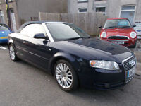 2007 Audi A4 Cabriolet 1.8T Sport history belt done at 85000