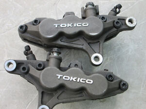 Kaw/Suzuki 90mm 6-Piston Tokico Front Brake Calipers