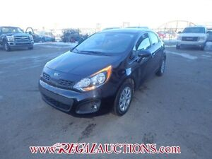 2013 KIA RIO LX PLUS 5D HATCHBACK AT 1.6L LX PLUS