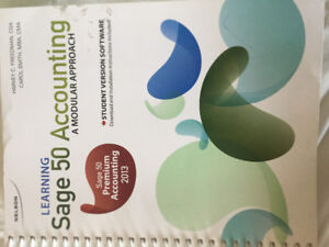Sage 50 Accounting - A modular Approach 2013 edition