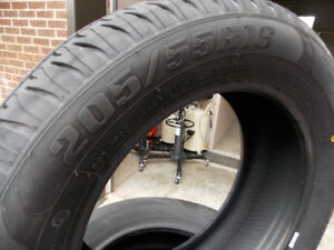 NEW TIRES 205/55/16 - 289$ txin 4tires ** 2150 Hymus, Dorval **