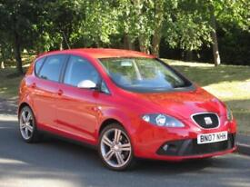 Seat Altea 2.0TDI DPF 2007 FR 1 OWNER + FSH + CAMBELT DONE +IMMACULATE CONDITION