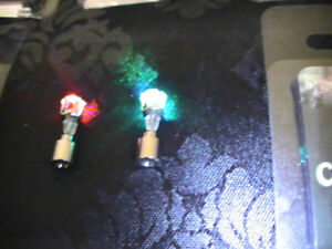 PARTY PARTY! Multicoloured Flashing LED Earing Pairs