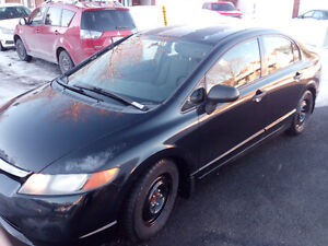 2007 Honda Civic DG-X Sedan