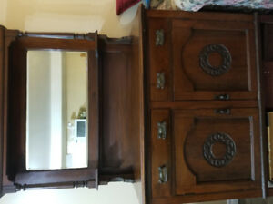 Beautiful antique solid wood buffet