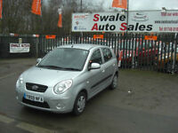 2010 KIA PICANTO 1 1.0L ONLY 9,144 MILES, FULL *KIA* SERVICE HISTORY, 1 OWNER