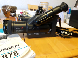 Philips Explorer Vhs Camcorder
