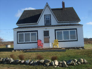 Charming older home with amazing view, Lower East Pubnico, NS