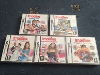 5 Imagine Nintendo Games for DS bundle