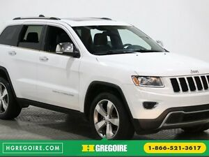 2014 Jeep Grand Cherokee Limited 4WD CUIR TOIT NAVIGATION CAM.RE