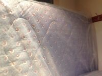 4 ft Small divan double bed, in good condition. FREE to anyone who collects it.