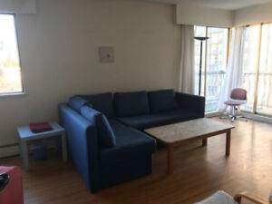 One bedroom in a two bedroom apartment for rent