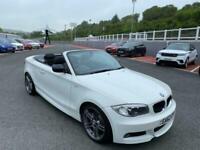 2012 62 BMW 118D CONVERTIBLE SPORT PLUS EDITION Auto Diesel Cabriolet in White