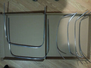 Chrome Piping Bucket seats/Strato Bench
