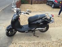 Sym 50cc my daughter has owed this from new only 600 miles