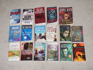 34 Books for Sale - Mostly Fiction