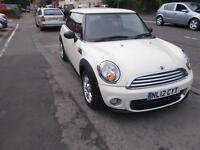 MINI ONE D 1.6 DIESEL 3 DOOR BACK ZERO RFL 1 OWNER FSH SAT NAV - BAL AFTER 1000 MIN PX ALLOW 5990