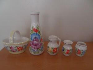 Decoration items and glass ware