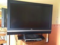 "Fantastic LG 37"" tv."