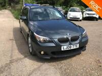 BMW 535 3.0TD auto 2008 d M Sport Touring, 65.000 MILES SERVICE HISTORY,LEATHER