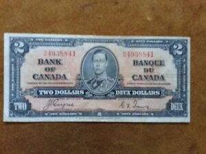 1937 - Two Dollar Note
