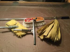 Ensemble de nettoyage SHURHOLD manche brosse moppe squeegee