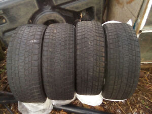 4 Used winter tires for sale $150