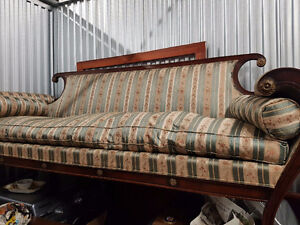 Fine heirloom Victorian handcrafted couch
