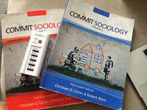 ***UOFT INTRO TO SOCIOLOGY COMMIT SOCIOLOGY VL. 1 & 2 PLUS NOTES