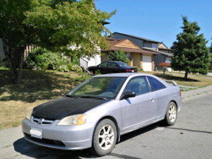 2002 Honda Civic Coupe 1500 OBO