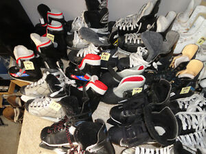 30 Different sized Girls - Boys & Youth Skates All Sizes London Ontario image 1