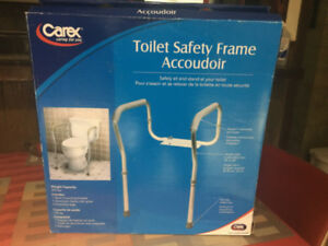 Carex Health Care Toilet Safety Frame / BRAND NEW NEVER USED