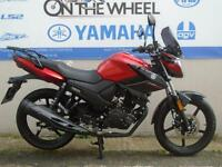2017 YAMAHA YS125 POWER RED *LOW RATE FINANCE AVAILABLE*