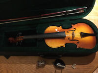 Small size violin, perfect for children just starting InHarmony