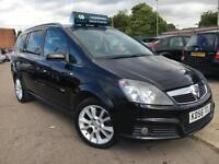 2006 Vauxhall Zafira 1.9CDTi 16v Design 150 BHP- FULL SERVICE HISTORY-LEATHER