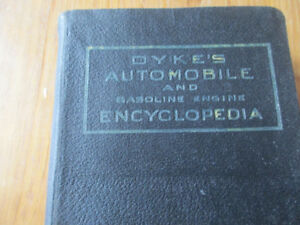 Dykes Automobile and Gasoline Engine Encyclopedia